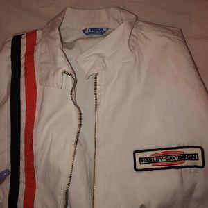 Vintage Harley Davidson / champion jacket
